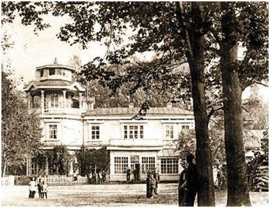 дом Тенишевых в Майском парке. Фото 1920-х гг. ГАБО